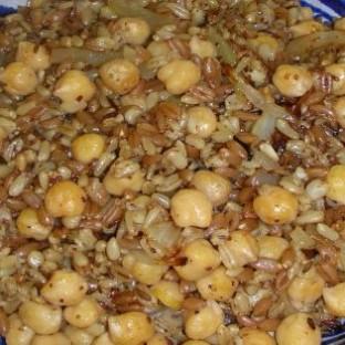 תבשיל זרעי שיפון, חומוס וכרשה